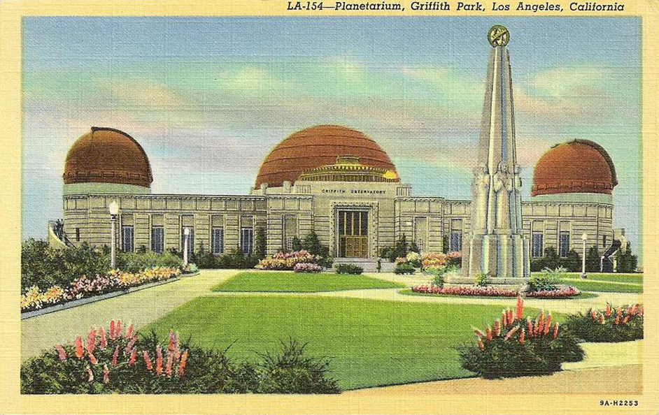 Griffith observatory and planetarium 1939 southern Southern living change of address